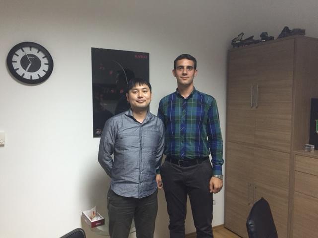 Hitoshi Fujii i Bartolomej Stanković