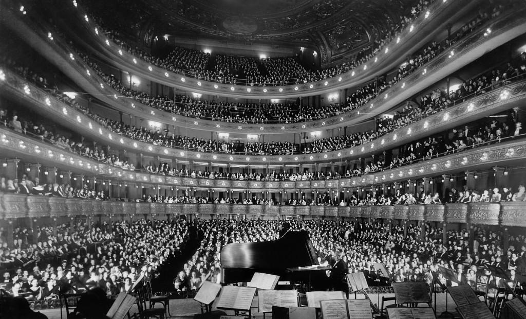 Josef Hofmann u Metropolitian Opera, New York